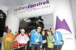 At the start in Balmoral.