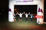 At the finish line in Coogee 5 hours and 34 minutes later.