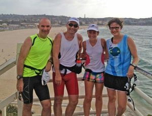 The 2014 Run 4 Vision team for the Sydney Coastrek