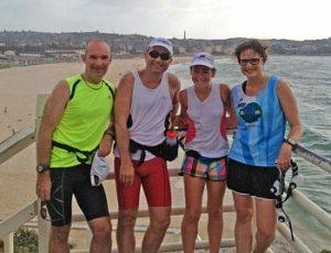 The 2014 Run 4 Vision team for the Sydney Coastrek