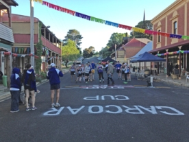 The start at the Carcoar 60km race